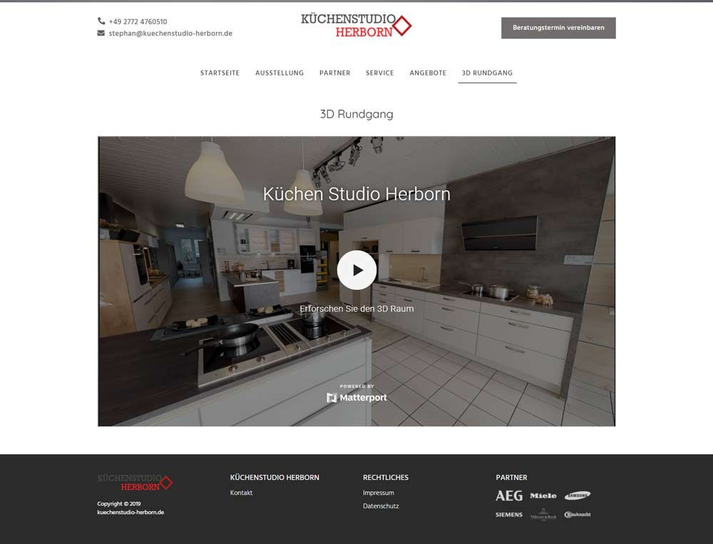 Küchenstudio Herborn 3D Rundgang