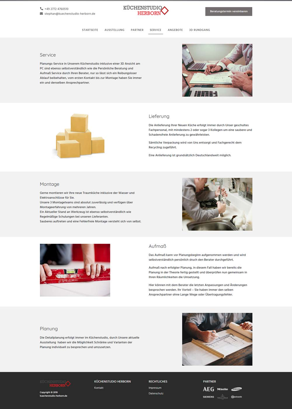 Küchenstudio Herborn Service
