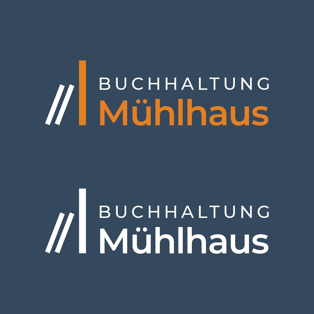 Buchhaltung Mühlhaus Logodesign
